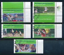 2324 - 2328 gestempelt Sport Bund 2003 Fußball WM RR + Eckstücke
