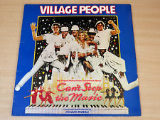 Village People/Can't Stop The Music/1980 Mercury Gatefold Soundtrack LP