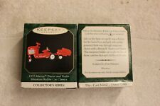 1999 Hallmark Die-Cast Miniature 1955 Murray Tractor and Trailer Kiddie Car 5th
