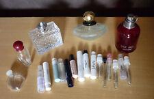 7 + 22 lege parfumflesjes Empty perfume bottles