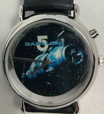 Babylon 5 E.L. Analogue Watch 1997 In Collectible Tin Wesco Limited