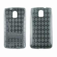 Wireless Accessories Checkered Smoke TPU Protector Case Pantech Magnus P9090