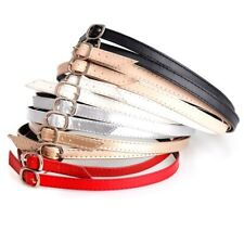Detachable PU Shoe Strap Lace Band for Holding Loose High Heeled Shoe WE9X