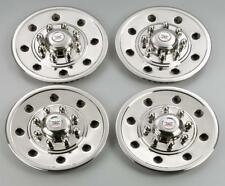 "Phoenix USA Wheel Simulators Single Wheel Trailers Stainless Polished 16"" Dia"