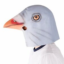 Masque Pigeon d'animaux en latex Réaliste Marrant Déguisement