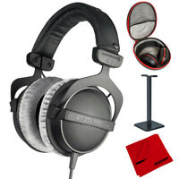 BeyerDynamic DT 770-PRO Studio Headphones 80 Ohms Closed Dynamic + Case Bundle