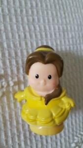 FISHER PRICE CURRENT LITTLE PEOPLE REPLACEMENT DISNEY PRINCESS BELLE BEAUTY
