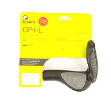 Ergon GP4-L Large Ergo Handlebar Bike Grips 4-Finger MTB/Commuter Black/Gray
