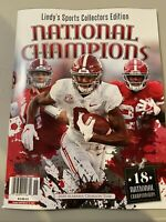 Lindys Alabama Crimson Tide 2020 National Champions Commemorative Magazine