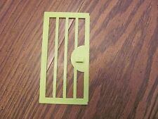 Vintage Playskool Lock Up Zoo replacement piece door #2