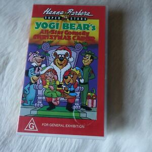 Hanna Barbera YOGI BEAR'S All-Star Christmas Caper VHS Children Boo Boo Ranger