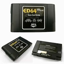 ED64 Plus Game Save Device Cartridge Adapter + 16GB SD Card for N64 Game Console