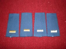 Vintage USAF Lieutenant  Epaulets Silver and Gold Color circa 1994