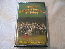 MC Original Donauschwaben 25 Jahre Jubiläumsausgabe Folge 1  Tape PPM 400MC 163