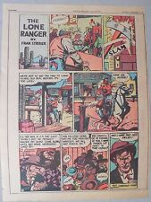 Lone Ranger Sunday Page by Fran Striker and Charles Flanders from 11/21/1943