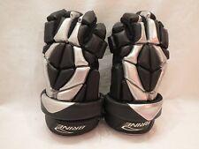 Brine Hyper Ventilator Silver-and-Black Dri-Lex Lacrosse Gloves [Lglhyp7-3Bl]