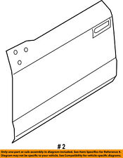 FORD OEM 15-16 F-150-Door Skin Outer Panel Left FL3Z1620201A