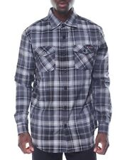 Enyce Mens XL Plaid Lightweight Long Sleeve Button Down Sean Combs Shirt New NWT