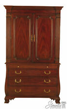 47088: HENKEL HARRIS Mahogany Model #184 Bedroom Armoire Wardrobe