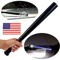 89000lm Baseball Bat Torch LED Flashlight Tactical Security Self-defense Light