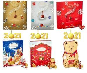 LINDT Lindor Teddy Santa Chocolates Truffles Advent Calendar Christmas 2021🎅🎄