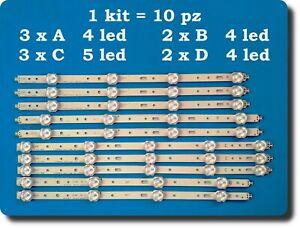 Kit barre led Philips Toshiba SVS400A79 SVS400A73 40PFL3208K 40PFL3208H 40D1333