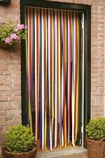 PVC Door Strip Insect Curtain Stop Flying Mosquito Bugs Flies Wasps 90 x 210cm