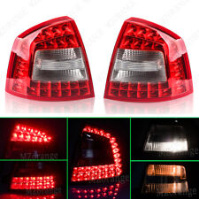 Pair For Skoda Octavia 2009-2013 Hatchback Rear Tail LED Light Lamp Replacement