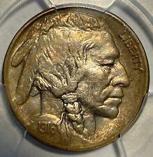 1916-S Buffalo Nickel, PCGS AU58, Tough Date/MM, PQ Quality, Toned!