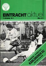 BL 76/77 Eintracht Braunschweig - Karlsruher SC, 19.03.1977