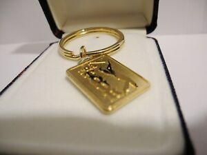 COLIBRI MEN'S PGA TOUR GOLDTONE  KEY RING NEW IN GIFT BOX  REDUCED   SPECIAL
