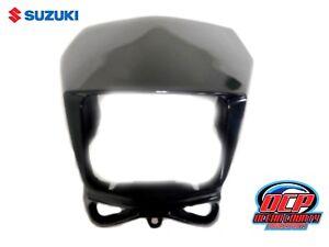2002 - 2017 SUZUKI DR-Z DRZ 400S SM DR 650 200 OEM HEAD LIGHT FACE COVER BLACK