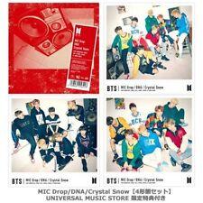BTS MIC Drop/DNA/Crystal Snow UNIVERSAL MUSIC STORE Limited Japan 4CD+7Photo+Box