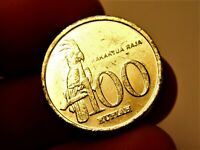 Indonesia 100 rupiah 1999 year collectible coin money for collection #225