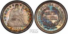 PCGS Certified MS 65 Graded Seated Liberty Dimes (1837-1891)