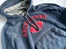 ABERCROMBIE & FITCH Geniales dunkelblaues Hoodie Sweatshirt Gr.S