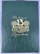 The Original 13 American Colonies Quarters Littleton New Custom Coin Folder