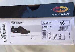 NEW NORTHWAVE Man road cycling shoes PHANTOM SRS black