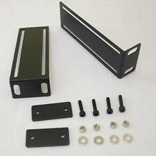2x rackwinkel pour amplificateur, arrière 1 he acier Amplificateur angle, rackohren NEUF