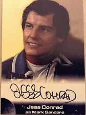 SPACE 1999: AUTOGRAPH CARD: JESS CONRAD AS MARK SANDERS JC2