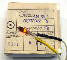 15pcs IN-3 neon bulbs tubes IN3 nixie ussr Clock ( in14 in18 )Tube Light NEW