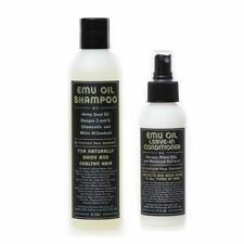 Sulfate Free Emu Oil Shampoo & Conditioner Set for Extremely Dry Hair (Set of 2)
