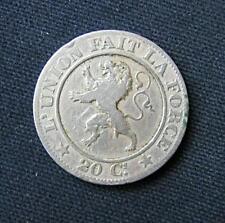 Munt België/Belgique: 20 CENTIMES 1861