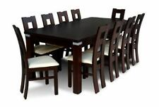 Esstisch + 10 Stühle  Stuhl Esszimmer Set Essgruppe Klassischer Tisch Tische Z09