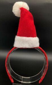 Holiday Santa Hat Headband Custom Made New