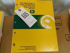 3 John Deere 7200 Max Emerge 2 6 Amp 8 Row Planter Operators Manual Tag 665