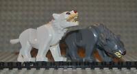 Herr der Ringe Hobbit Warg wargpb02c01 wargpb01c01 kompatibel zu Lego Set 79002