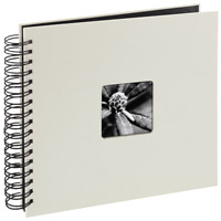 "Hama ""Fine Art"" Spiral Album 24 x 17cm 50 Black Pages Chalk"
