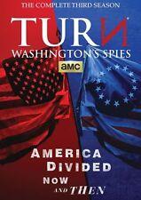 Turn: Washington's Spies Complete Third Season 3 (DVD,2016,3-Disc Set)