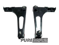 REV 3 Rear Center Garnish L Brackets (Round Tail Lights) Genuine Toyota MR2 SW20
